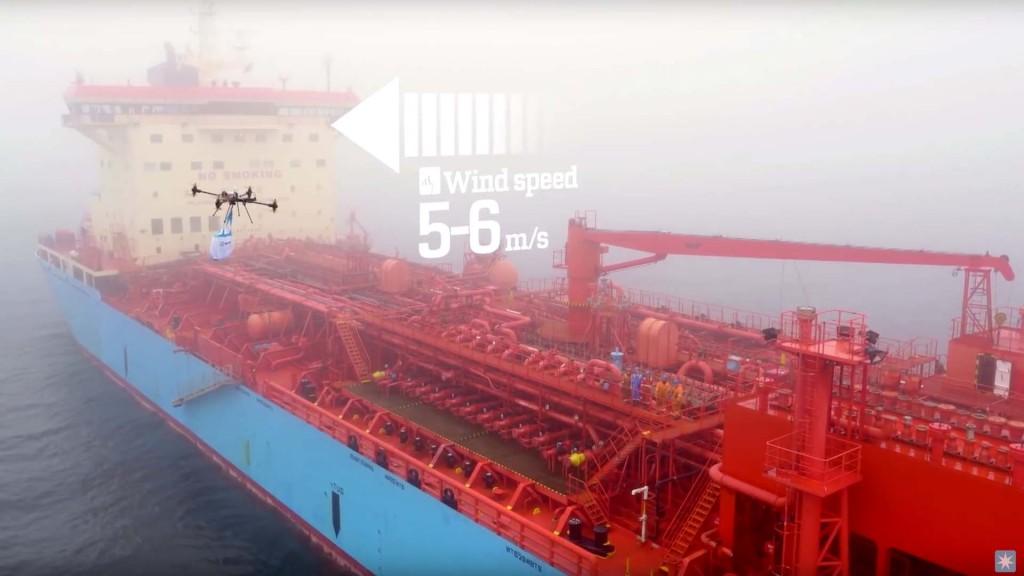 MÆRSK - DRONE DELIVERY
